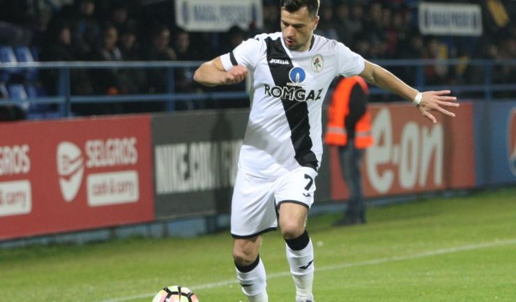 Azdren Llullaku a înscris 16 goluri în sezonul 2016-2017 din Liga 1
