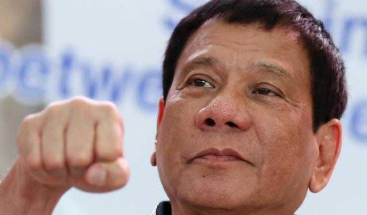 Președintele filipinez, Rodrigo Duterte