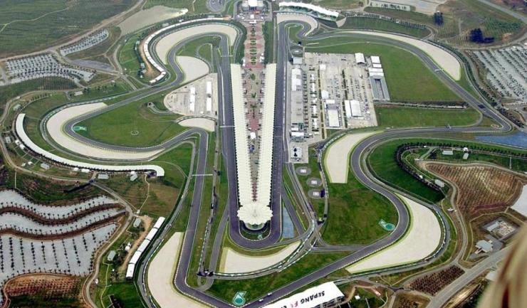 Circuitul de la Sepang este unul dintre cele mai frumoase din lume