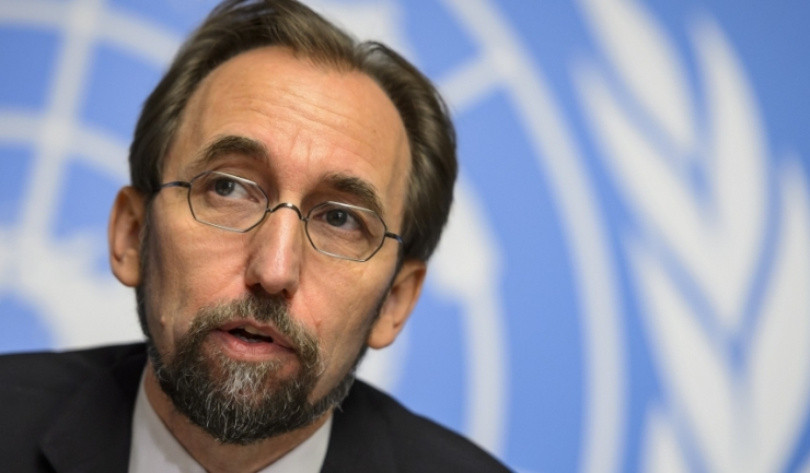Comisarul ONU pentru drepturile omului, Zeid Ra'ad al-Hussein