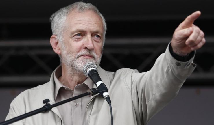 """Liderul opoziției laburiste din Marea Britanie, Jeremy Corbyn: """"Acolo unde (premierul) Theresa May divizează, Partidul Laburist va reuni cele patru națiuni ale noastre"""""""
