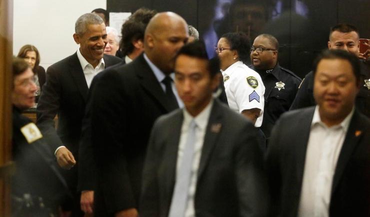 Barack Obama nu a fost selectat ca jurat la o instanță americană