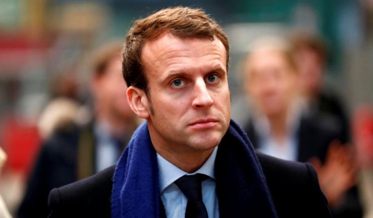 Preşedintele Franţei, Emmanuel Macron