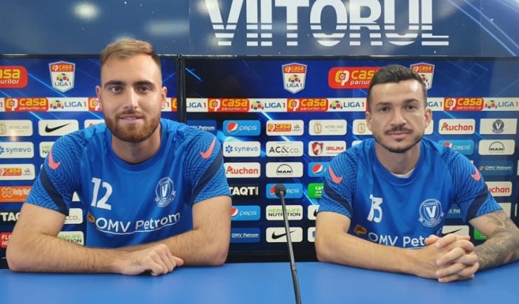 Valentin Cojocaru şi Cosmin Matei