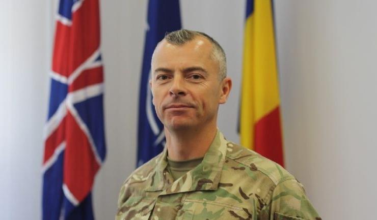 eful detaşamentului britanic 135 Expeditionary Air Wing, comandantul Chris Ball: