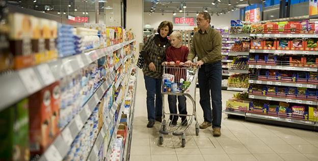 În 2018, hipermarketurile au rămas destinația principală pentru cumpărăturile familiilor din România, potrivit GfK
