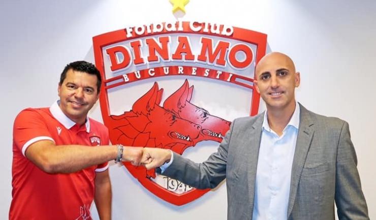 Cosmin Contra s-a declarat mulţumit după succesul de la Mediaş (sursa foto: www.fcdinamo.ro)