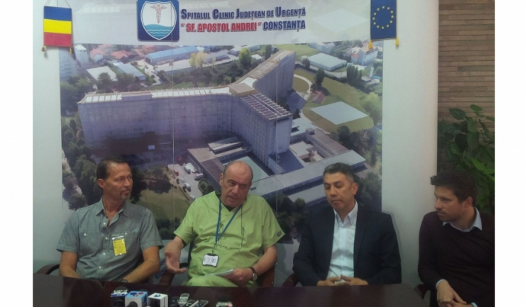 Echipa din Germania, Koln, și prof. dr. Constantin Tica