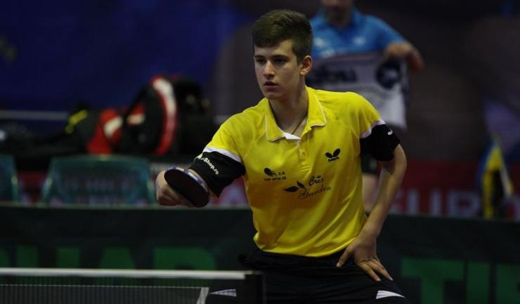 Cristian Pletea a obținut trei medalii de aur la Campionatele Naționale de tenis de masă pentru juniori
