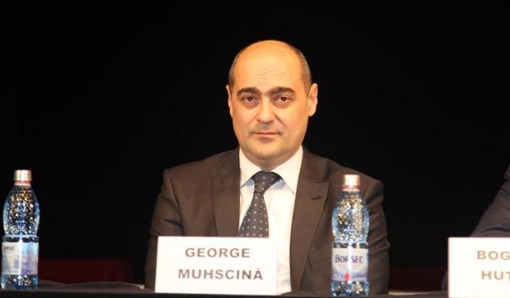 """Președintele Organizației Municipale Constanța a PNL, George Muhscină, spune că """"PNL nu poate achiesa la populismele și propunerile amatoriste ale PMP"""""""