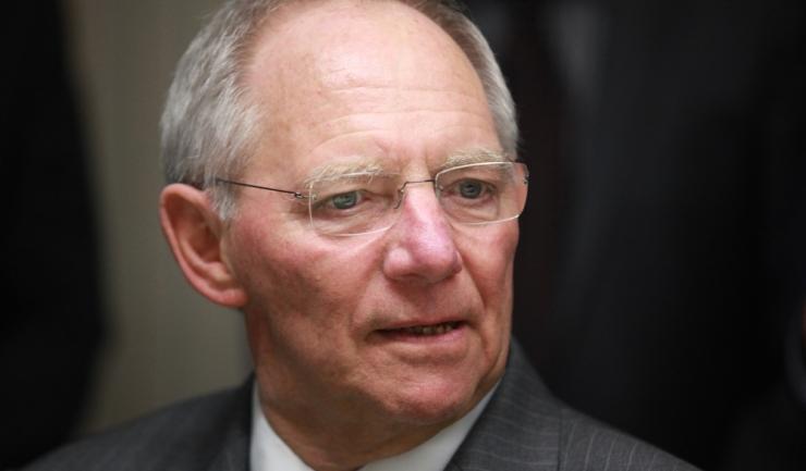 Ministrul german de Finanțe, Wolfgang Schaeuble