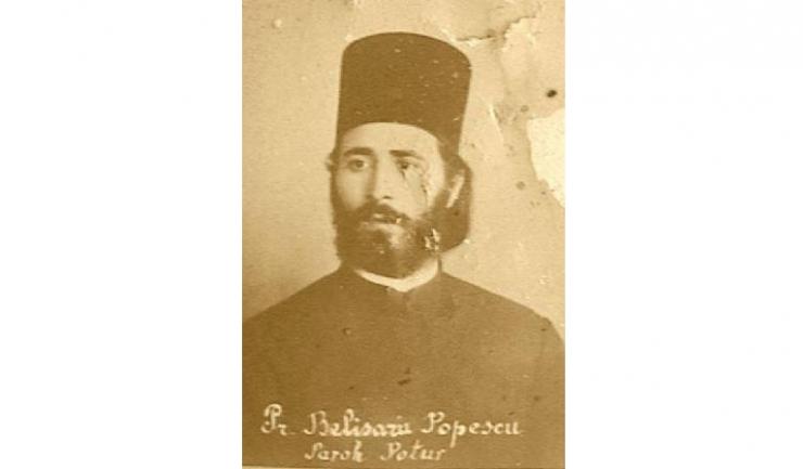Preotul Belizarie Popescu, unul din cei comemorați