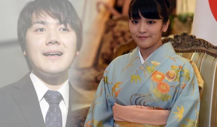Prințesa Mako și iubitul ei, Kei Komuro