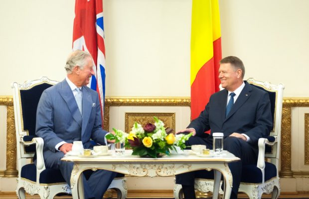 Moștenitorul tronului Marii Britanii se întâlneşte, luni, cu preşedintele Klaus Iohannis