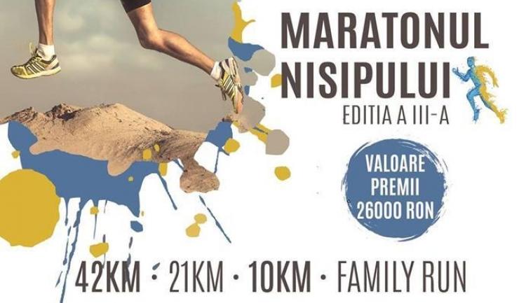 Peste 500 de alergători s-au înscris deja la startul celei de-a treia ediții a Maratonului Nisipului