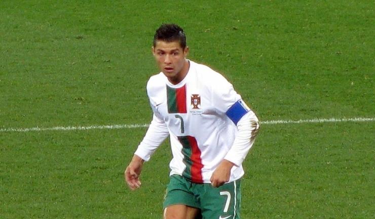 Cristiano Ronaldo, la Campionatul Mondial din 2010, din Africa de Sud