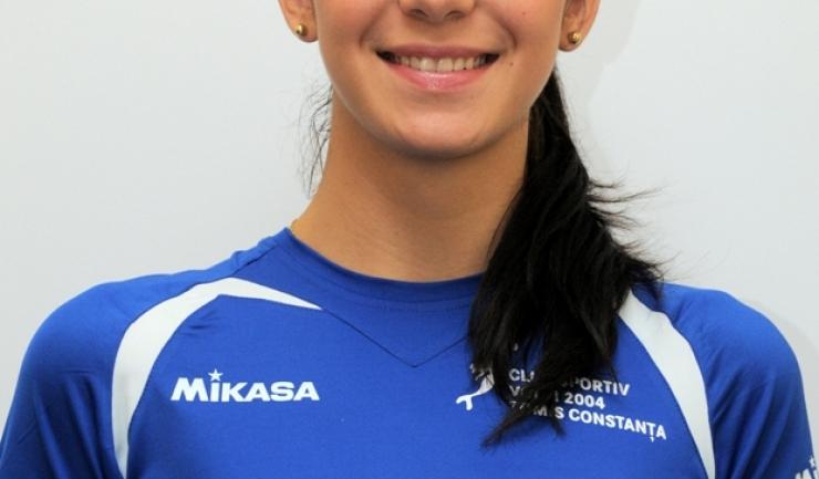 Cristina Miron (fostă Cazacu) a evoluat în perioada 2009-2013 la CS Volei 2004 Tomis Constanţa