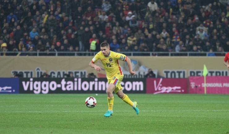 Răzvan Marin va bifa în Rusia a patra selecție în tricoul naționalei României
