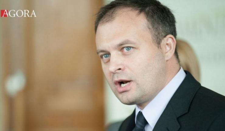 Președintele Parlamentului moldovean, Andrian Candu