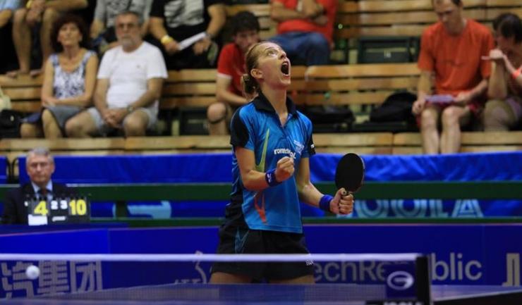 Eliza Samara a câștigat două meciuri în partida decisivă cu Ungaria