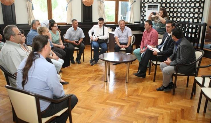Întâlnirea dintre reprezentanții CJC și primarii din Republica Moldova a fost, mai degrabă, o discuție între prieteni, cu schimburi de impresii