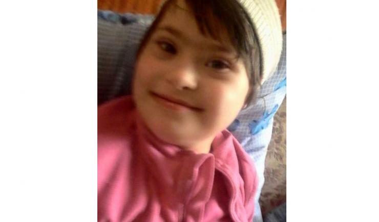 Kiki, fetița diagnosticată cu Sindrom Down care s-a stins din viață
