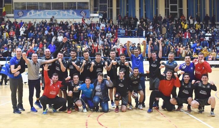 CS Medgidia a învins CSM Alexandria, încurajată şi de un public admirabil (sursa foto: Facebook Clubul Sportiv Medgidia)