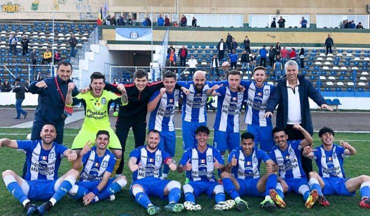 CS Medgidia a învins ultima clasată (sursa foto: Facebook Clubul Sportiv Medgidia)