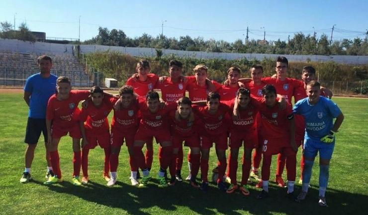 Juniorii de la CS Năvodari au depășit suta de goluri marcate în acest campionat