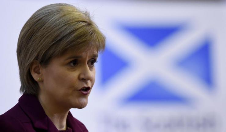 """Nicola Sturgeon, premierul Scoţiei: """"Poporul Scoţiei trebuie să aibă dreptul de a-şi alege propriul viitor - pe scurt, de a exercita dreptul la autodeterminare"""""""