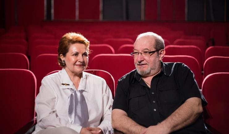 Zoltan Schapiro şi Olivia Costea