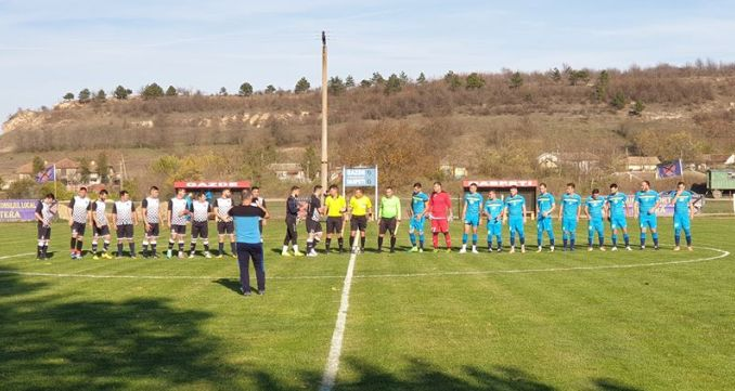 Duelul dintre CS Peştera şi Sportul Tortoman, din Seria Nord, s-a încheiat la egalitate (sursa foto: Facebook Clubul Sportiv Peștera)