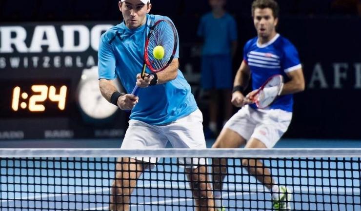 Horia Tecău și Jean Julien-Rojer vor lupta pentru calificarea în ultimul act al turneului din Carolina de Nord (sursa foto: Facebook)