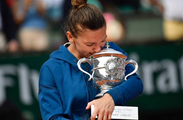 Simona Halep este deținătoarea trofeului la Roland Garros