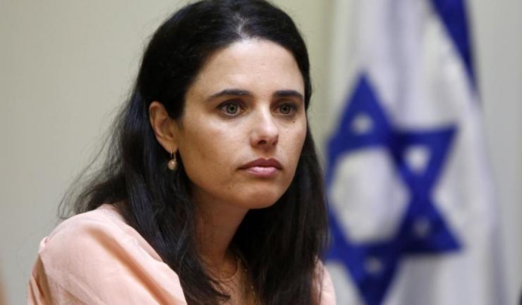 """Ayelet Shaked, ministrul israelian al Justiţiei: """"Sper că este vorba doar de ignoranţă, nu de politica oficială a Washingtonului"""""""
