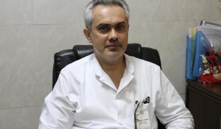 Coordonatorul rețelei de screening de depistare precoce a cancerului de col uterin de la Spitalul Județean Constanța, medic primar Sorin Vameșu