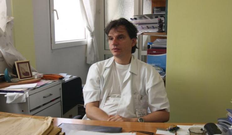 Șeful Clinicii Obstetrică Ginecologie I a SCJU, prof. univ. dr. Vlad Tica