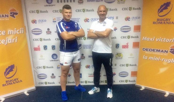 Antrenorul Cristian Cojocaru și căpitanul echipei, Cosmin Bălan, au reprezentat Tomitanii Constanța la ședința tehnică a competiției de la București