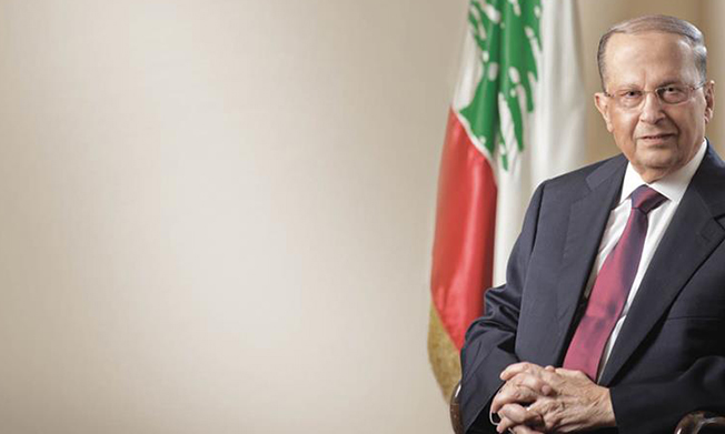 Preşedintele Libanului, Michel Aoun