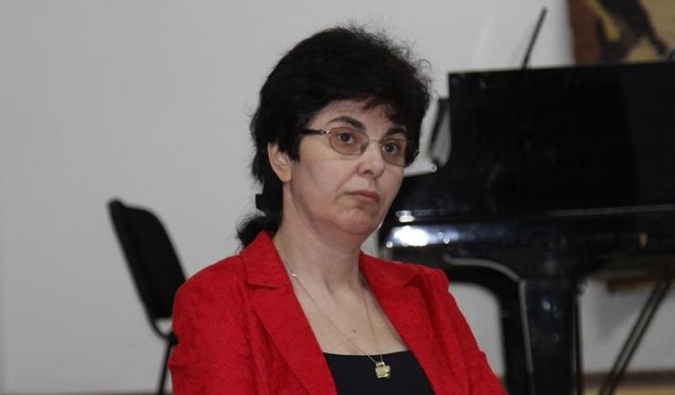 Inspectorul școlar general adjunct din cadrul ISJ Constanța, prof. Alina - Diana Codreanu