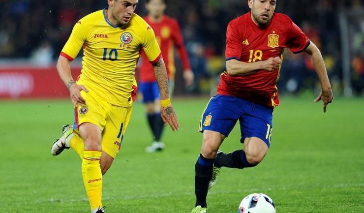 Nicușor Stanciu este jucătorul care trebuie să coordoneze ofensiva tricolorilor în fața Elveției