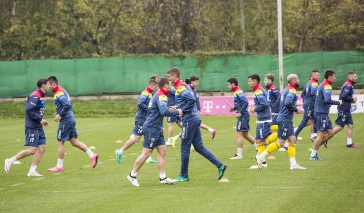 Fotbaliștii antrenați de Christoph Daum au efectuat primele antrenamente în vederea meciului cu Polonia