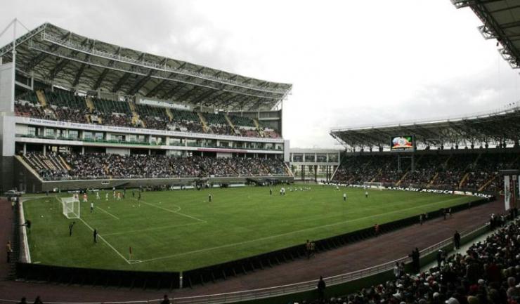 """Stadionul """"Akhmat-Arena"""" din Groznîi va găzdui amicalul dintre România și Rusia"""