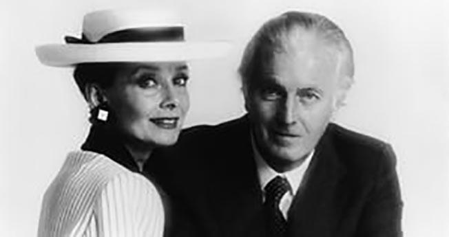 Hubert de Givenchy cu Audrey Hepburn