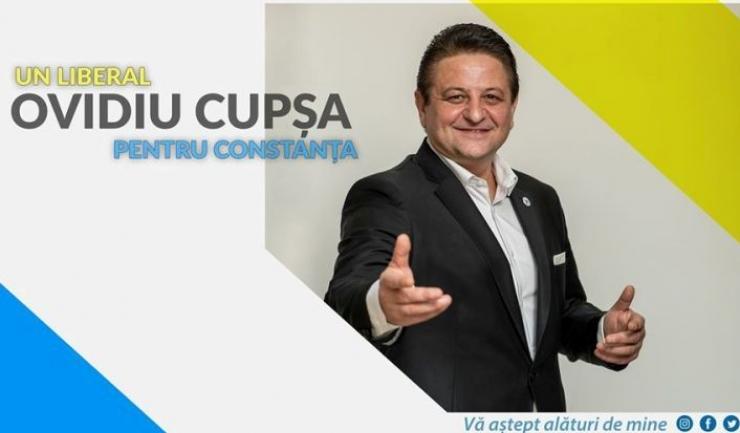Liderul PNL Constanța, deputatul Bogdan Huțucă, a tăiat rapid avântul pe care Ovidiu Cupșa și l-a luat suflându-și singur în pânzele unei candidaturi pentru care nu a fost desemnat