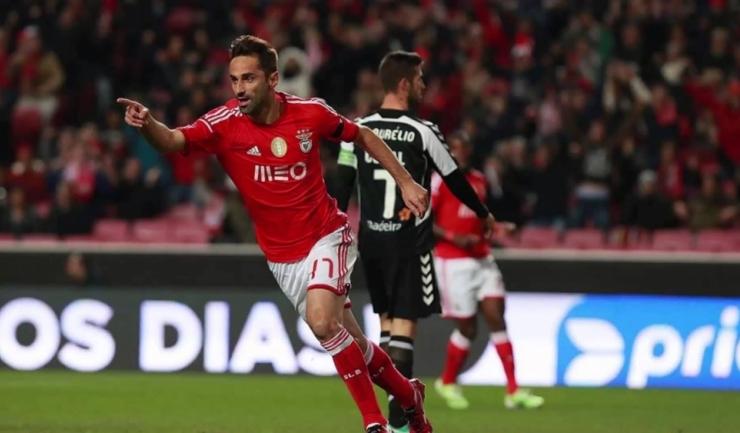 Jonas a înscris golul victoriei pentru Benfica