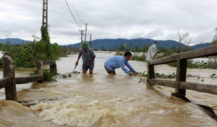 Ploile din ultima perioadă au provocat un dezastru natural în Vietnam