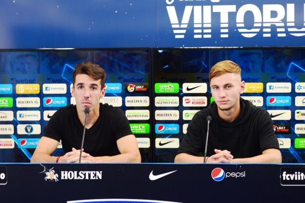 Andrei Artean și Denis Drăguș se gândesc doar la obținerea celor trei puncte în meciul de luni