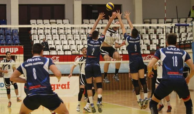 Meciul CVM Tomis - U. Cluj, scor 0:3, disputat la 19 decembrie 2015, a fost ultimul susținut de CVM Tomis în actualul sezon