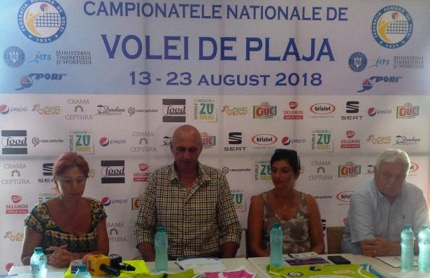 Organizatorii Campionatelor Naționale de volei pe plajă așteaptă un număr cât mai mare de spectatori, mai ales că se va juca, în premieră, și în nocturnă